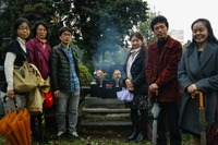 井上先生のお墓参り(2015年)