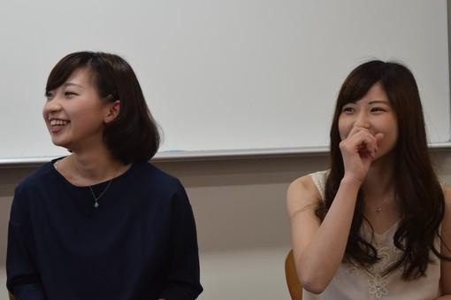 中澤舞央さん、東都詩歩さん