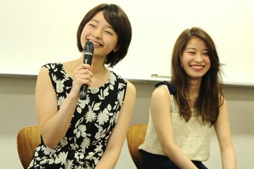 反後花美さん、徳岡良子さん